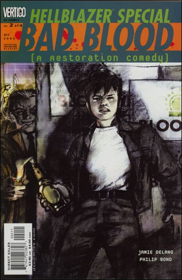 Hellblazer: Special: Bad Blood 2-A by Vertigo