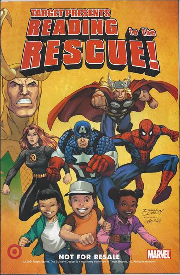 Target Presents: Reading to the Rescue 1-A by Marvel