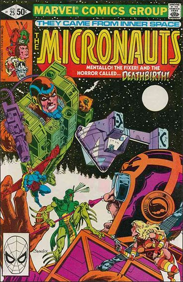 Micronauts (1979) 25-A by Marvel