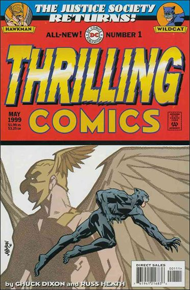 Thrilling Comics (1999) 1-A by DC