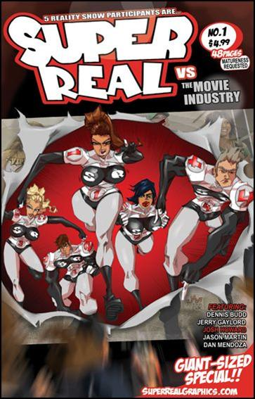 Super Real Special: Vs. The Movie Industry 1-A by Super Real Graphics
