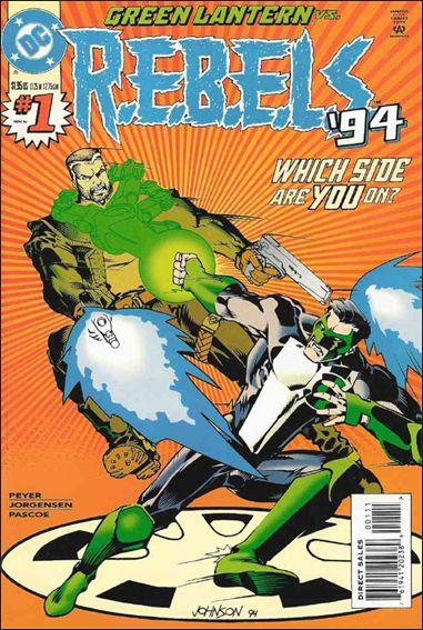 R.E.B.E.L.S. (1994) 1-A by DC