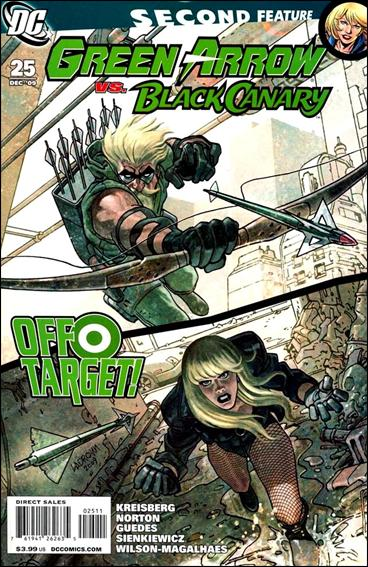 Green Arrow/Black Canary 25-A by DC