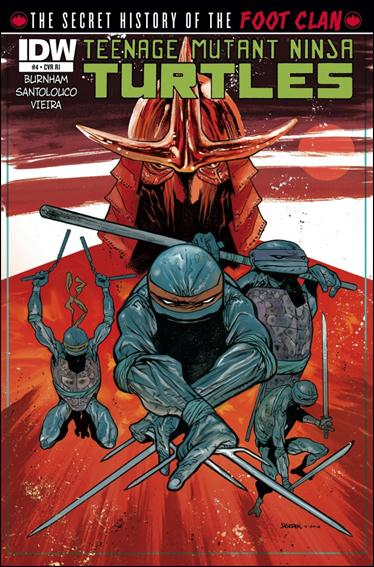 Teenage Mutant Ninja Turtles: The Secret History of the Foot Clan 4-B by IDW