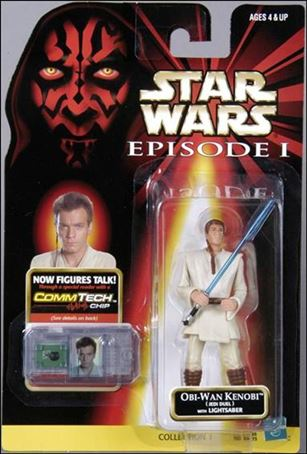 "Star Wars: Episode I 3 3/4"" Basic Action Figures Obi-Wan Kenobi (Jedi Duel) (No Logos)"