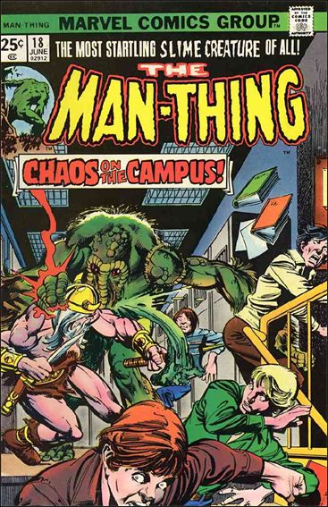 Man-Thing (1974) 18-A by Marvel