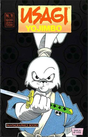 Usagi Yojimbo (1987) 18-A by Fantagraphics