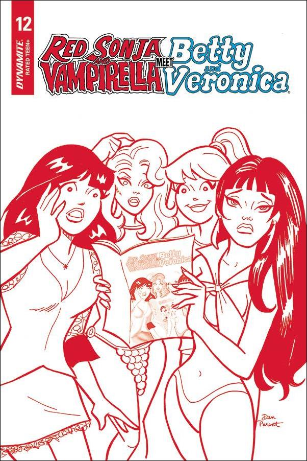 Red Sonja and Vampirella Meet Betty and Veronica 12-H by Dynamite Entertainment