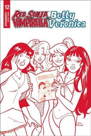 Red Sonja and Vampirella Meet Betty and Veronica 12-H