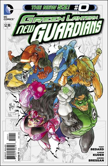 Green Lantern: New Guardians  0-A by DC
