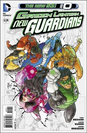 Green Lantern: New Guardians  0-A