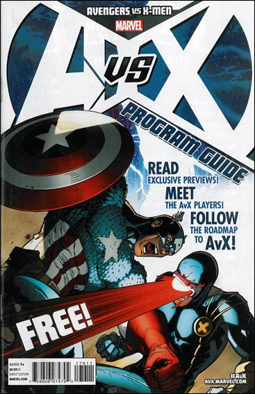 Avengers vs X-Men Program 1-A by Marvel