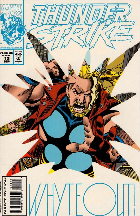 Thunderstrike (1993) 12-A by Marvel