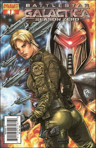 Battlestar Galactica: Season Zero 1-C by Dynamite Entertainment
