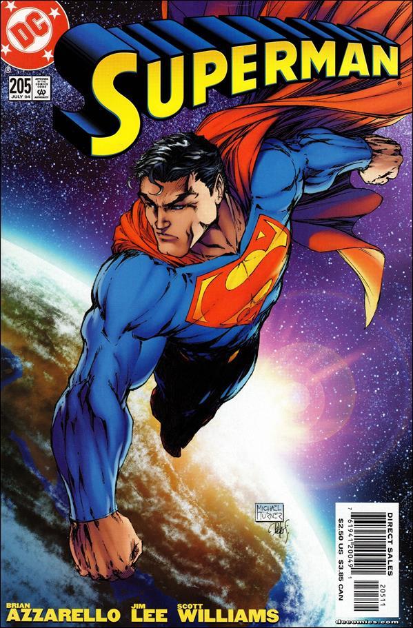 Superman (1987) 205-B by DC