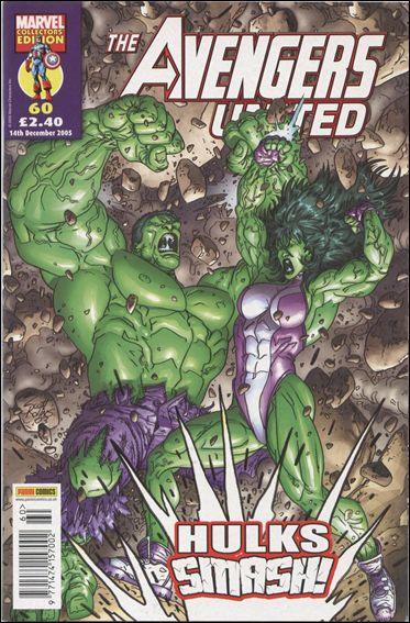 Avengers United (UK) 60-A by Marvel UK