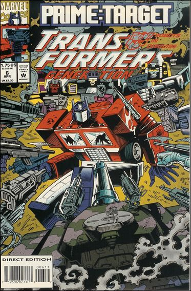 Transformers: Generation 2 6-A by Marvel