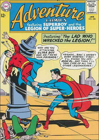 Adventure Comics (1938) 328-A by DC