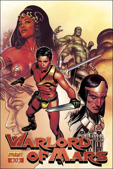 Warlord of Mars 10-B by Dynamite Entertainment