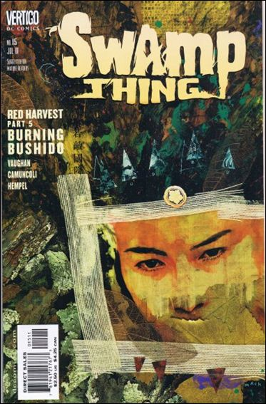 Swamp Thing (2000) 15-A by Vertigo