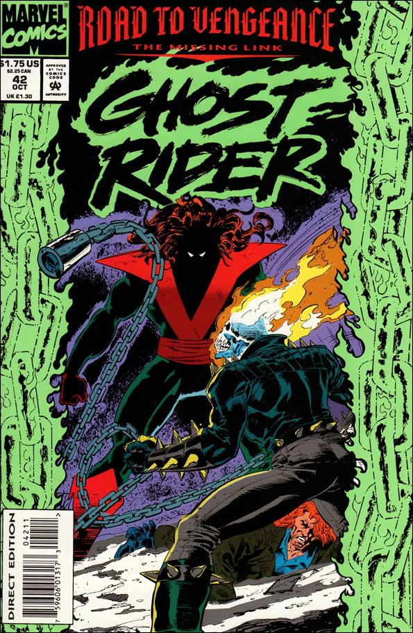 Ghost Rider (1990) 42-A by Marvel