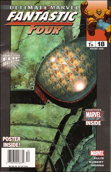 Ultimate Marvel Flip Magazine 18-A by Marvel