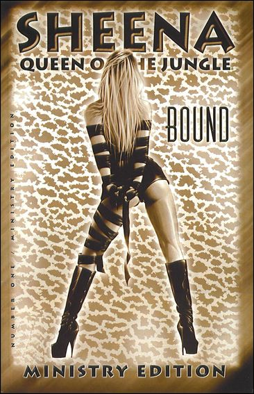 Sheena Queen of the Jungle: Bound 1-B by London Night