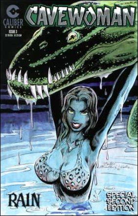 Cavewoman: Rain 3-B by Caliber
