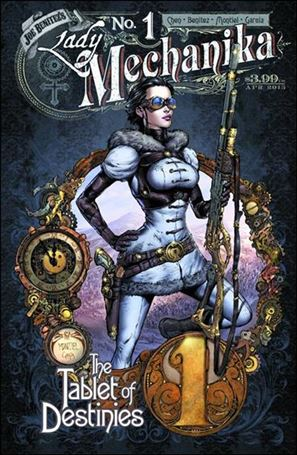 Lady Mechanika: The Tablet of Destinies 1-A
