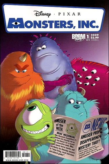 Monsters, Inc.: Laugh Factory 1-A by Boom! Kids