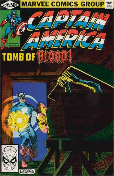 Captain America (1968) 253-A by Marvel