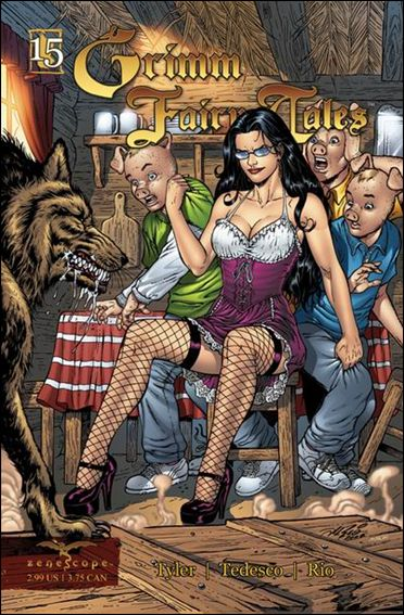 Grimm Fairy Tales 15-A by Zenescope Entertainment