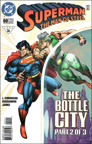 Superman: The Man of Steel 60-A by DC