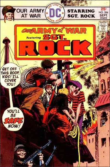 Our Army at War (1952) 284-A by DC