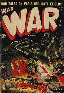 War Comics (1950) 11-A by Atlas