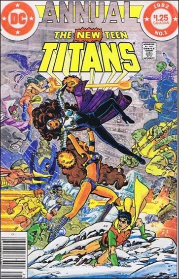 New Teen Titans Annual 1-B by DC