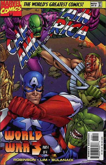 Captain America (1996) 13-A by Marvel