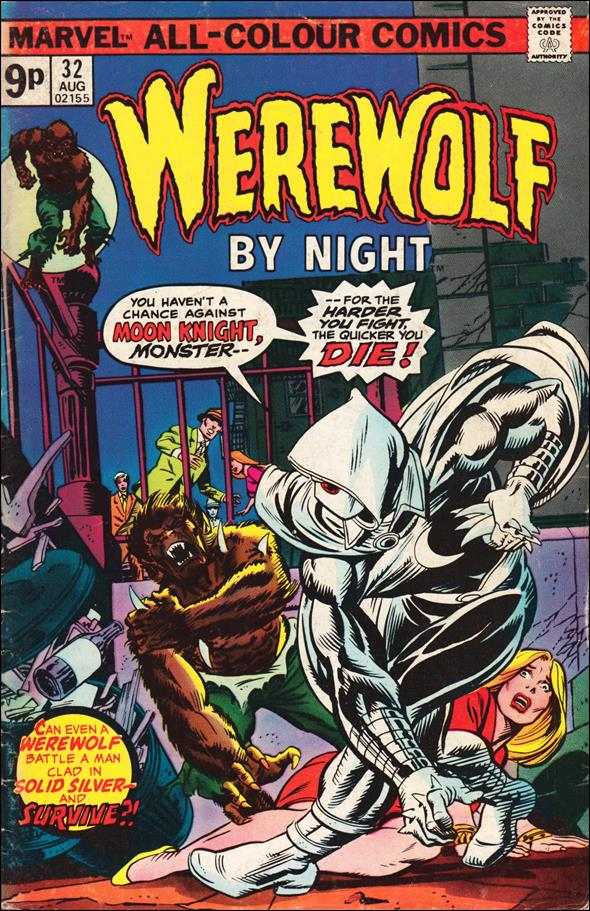 Werewolf by Night (1972) 32-B by Marvel