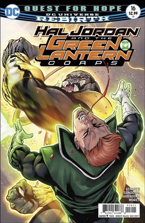 Hal Jordan and the Green Lantern Corps 16-A