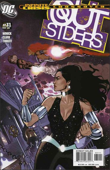 Outsiders (2003) 31-A by DC
