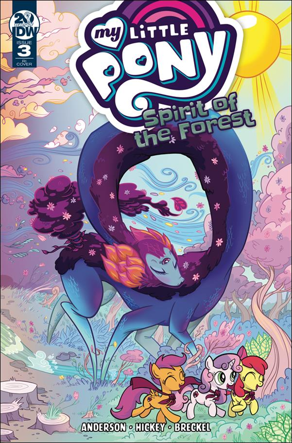 My Little Pony: Spirit of the Forest 3-C by IDW