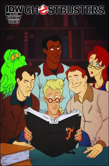 Ghostbusters (2013) 8-B by IDW