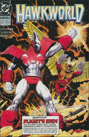 Hawkworld (1990) 27-A by DC