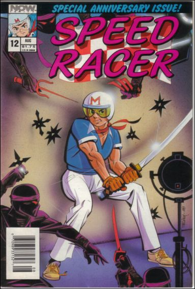 Speed Racer (1987) 12-A by Now Comics