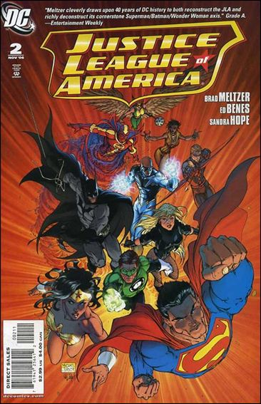 Justice League of America (2006) 2-A by DC