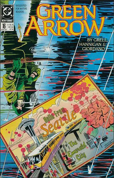 Green Arrow (1988) 16-A by DC