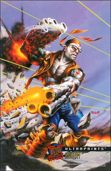 1995 Fleer Ultra X-Men (Ultraprints Subset) 9-A by Fleer