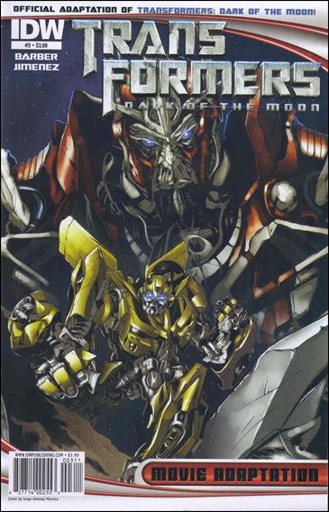 Transformers: Dark of the Moon Movie Adaptation 3-A by IDW