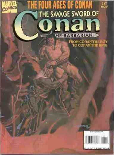 Savage Sword of Conan (1974) 227-A by Marvel