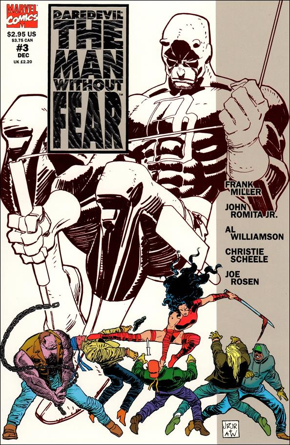 Daredevil The Man Without Fear 3-A by Marvel